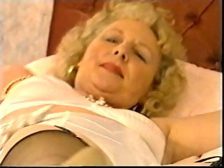 blonde granny mature